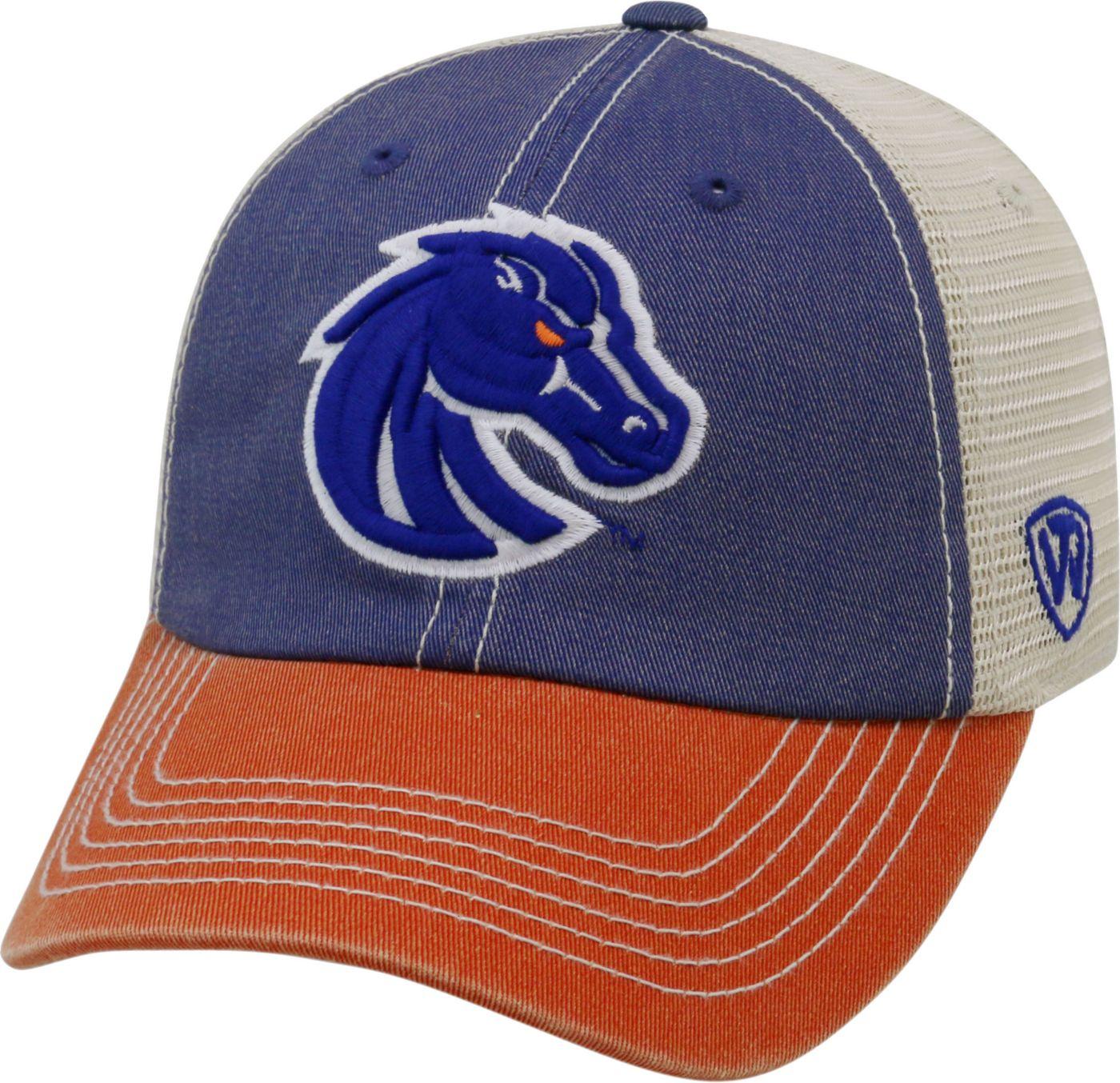 Top of the World Men's Boise State Broncos Blue/White/Orange Off Road Adjustable Hat