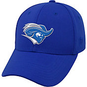Top of the World Men's Christopher Newport Captains Royal Blue Premium Collection M-Fit Hat