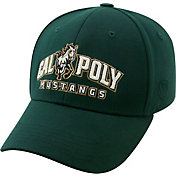 Top of the World Men's Cal Poly Mustangs Green Premium Collection M-Fit Hat