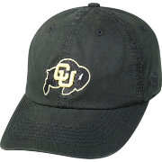 Top of the World Men's Colorado Buffaloes Black Crew Adjustable Hat
