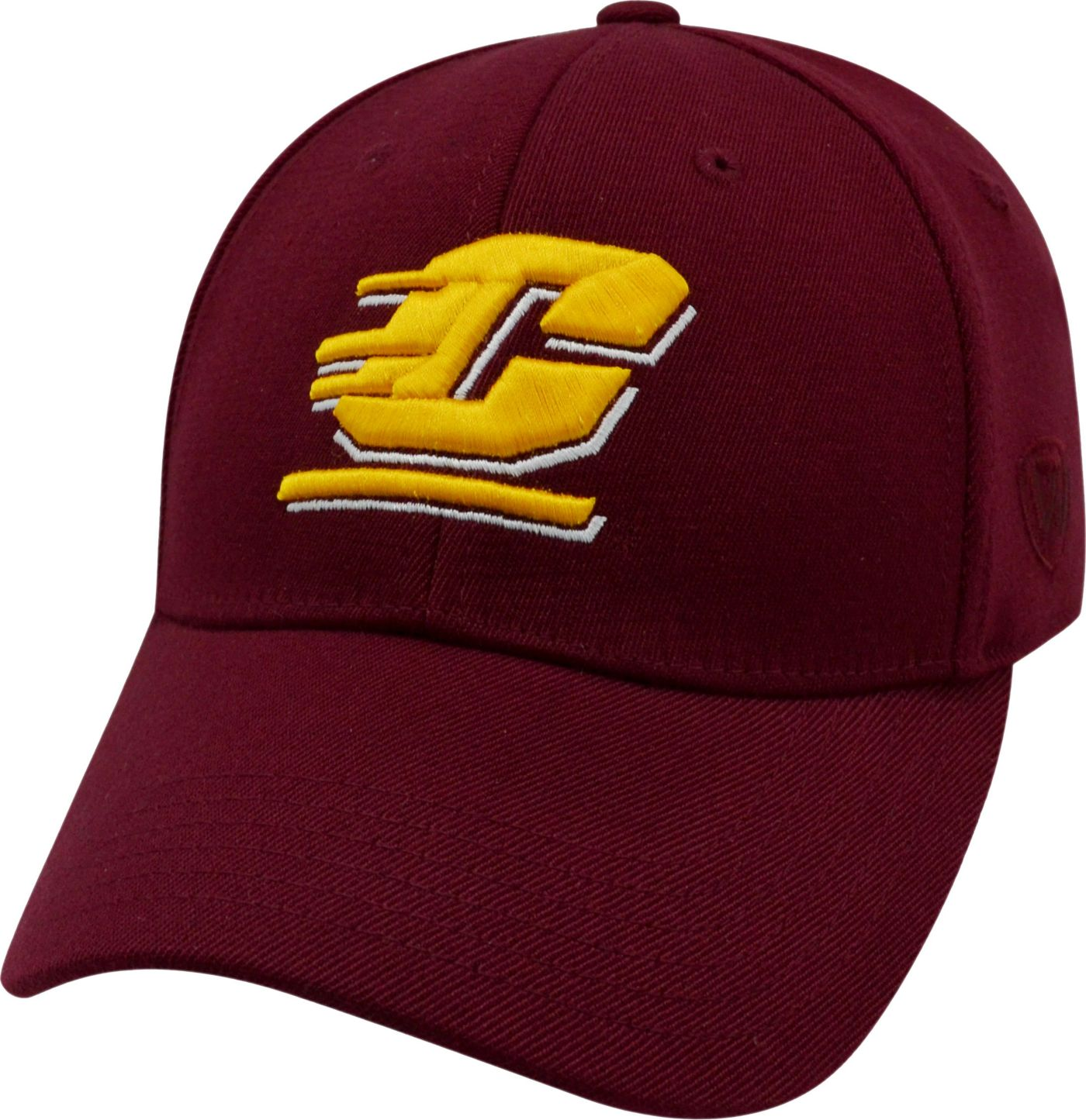 Top of the World Men's Central Michigan Chippewas Maroon Premium Collection M-Fit Hat