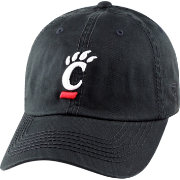 Top of the World Men's Cincinnati Bearcats Black Crew Adjustable Hat