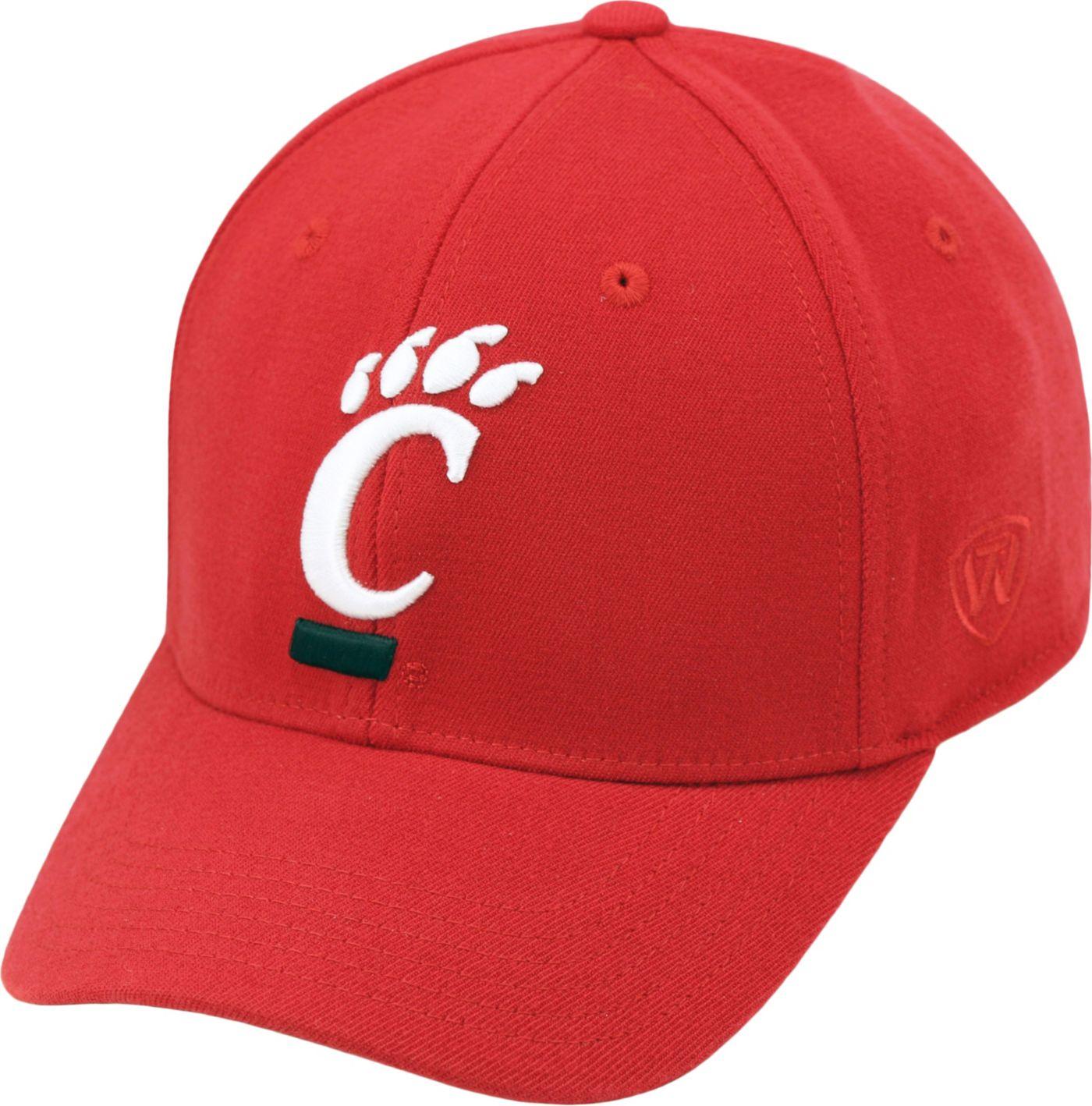Top of the World Men's Cincinnati Bearcats Red Premium Collection M-Fit Hat
