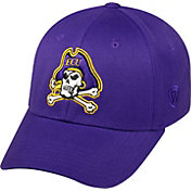 Top of the World Men's East Carolina Pirates Purple Premium Collection M-Fit Hat