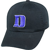 Top of the World Men's Duke Blue Devils Duke Crew Black Adjustable Hat