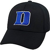 Top of the World Men's Duke Blue Devils Black Premium Collection M-Fit Hat