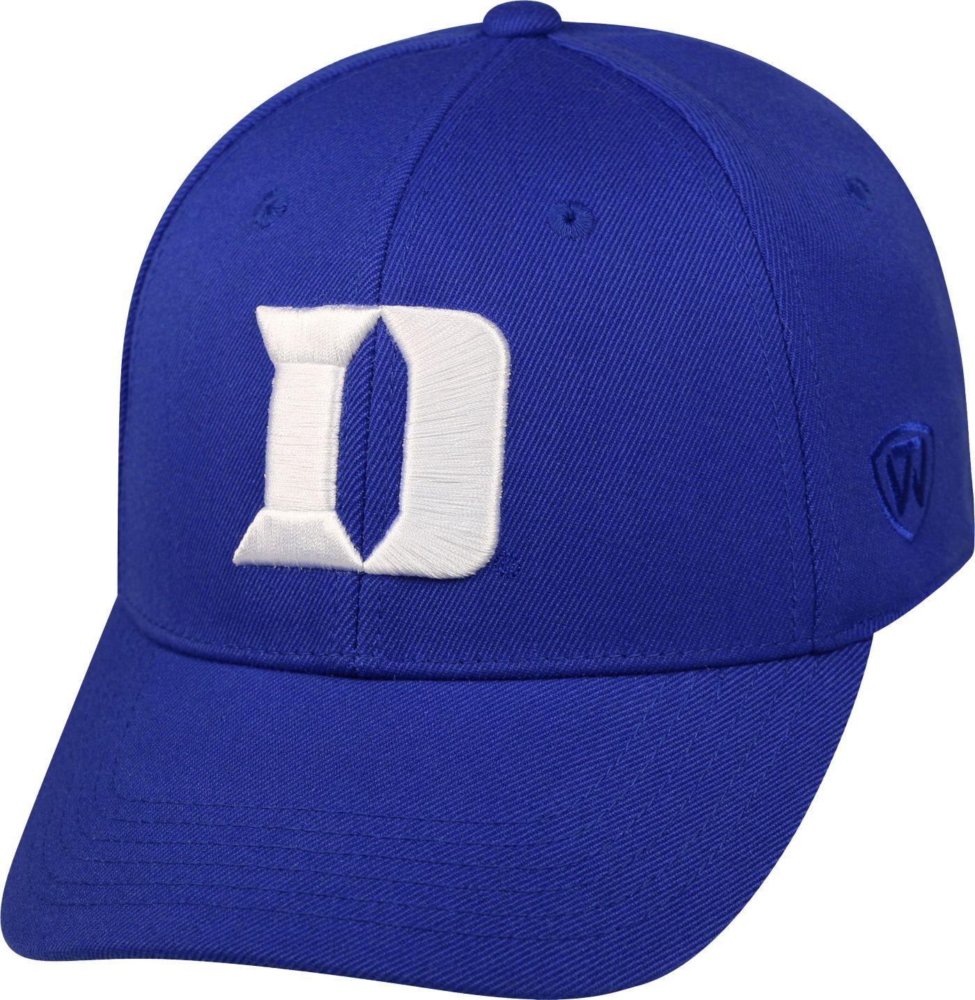 Top of the World Men's Duke Blue Devils Duke Blue Premium Collection M-Fit Hat