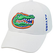 Top of the World Men's Florida Gators White Booster Plus 1Fit Flex Hat