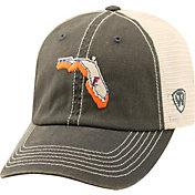 Top of the World Men's Florida Gators Grey/White United Adjustable Snapback Hat