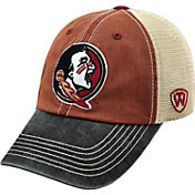 Top of the World Men's Florida State Seminoles Garnet/White/Black Off Road Adjustable Hat