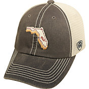 Top of the World Men's Florida State Seminoles Grey/White United Adjustable Snapback Hat