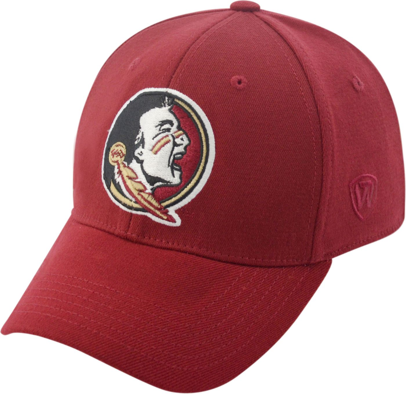 Top of the World Men's Florida State Seminoles Garnet Premium Collection M-Fit Hat