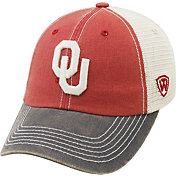 Top of the World Men's Oklahoma Sooners Crimson/Cream/Grey Off Road Adjustable Hat
