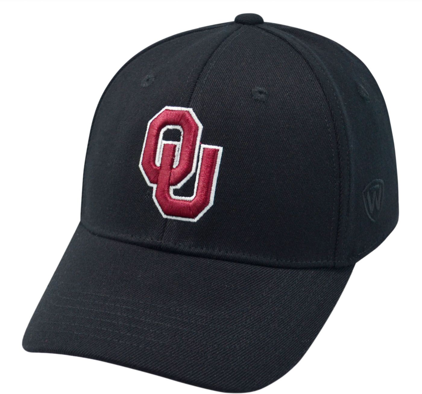 Top of the World Men's Oklahoma Sooners Black Premium Collection M-Fit Hat