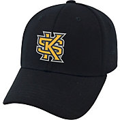 Top of the World Men's Kennesaw State Owls Black Premium Collection M-Fit Hat