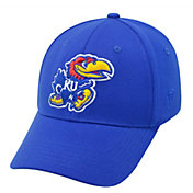 Top of the World Men's Kansas Jayhawks Blue Premium Collection M-Fit Hat