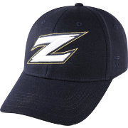 Top of the World Men's Akron Zips Navy Premium Collection M-Fit Hat