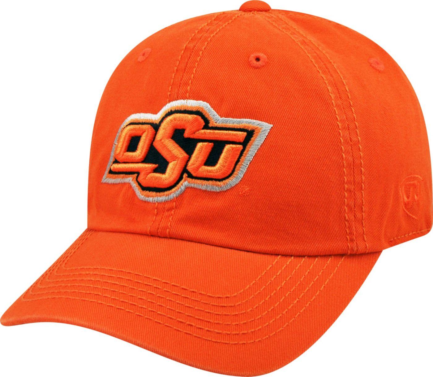 Top of the World Men's Oklahoma State Cowboys Orange Crew Adjustable Hat