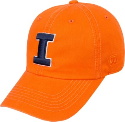 innovative design 2684a 0814a Top of the World Men s Illinois Fighting Illini Orange Crew Adjustable Hat.  noImageFound