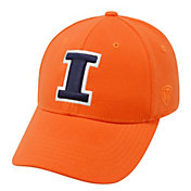 Top of the World Men's Illinois Fighting Illini Orange Premium Collection M-Fit Hat