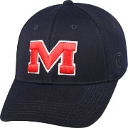 Top of the World Men's Ole Miss Rebels Blue Premium Collection M-Fit Hat