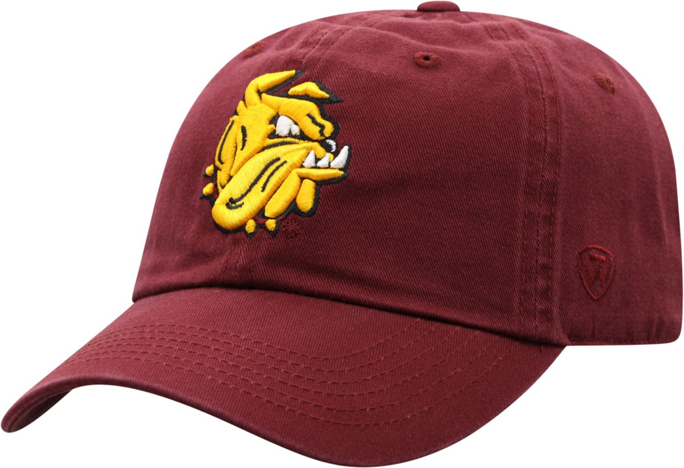 Top of the World Men's Minnesota-Duluth Bulldogs Maroon Crew Adjustable Hat