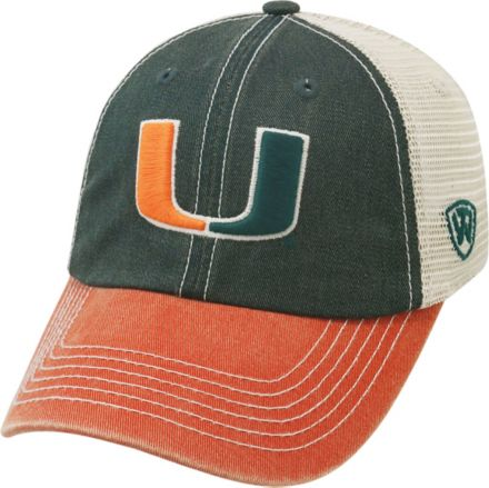 finest selection 6bb91 06551 Top of the World Men s Miami Hurricanes Green White Orange Off Road  Adjustable Hat   DICK S Sporting GoodsProposition 65 warning  iconProposition 65 warning ...