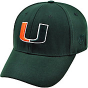 Product Image · Top of the World Men s Miami Hurricanes Green Premium  Collection M-Fit Hat 4555370c2d3