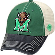 Top of the World Men's Marshall Thundering Herd Green/White/Black Off Road Adjustable Hat