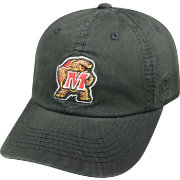Top of the World Men's Maryland Terrapins Black Crew Adjustable Hat