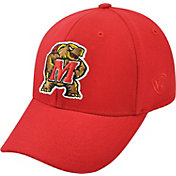Top of the World Men's Maryland Terrapins Red Premium Collection M-Fit Hat
