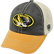 Top of the World Men's Missouri Tigers Black/White/Gold Off Road Adjustable Hat