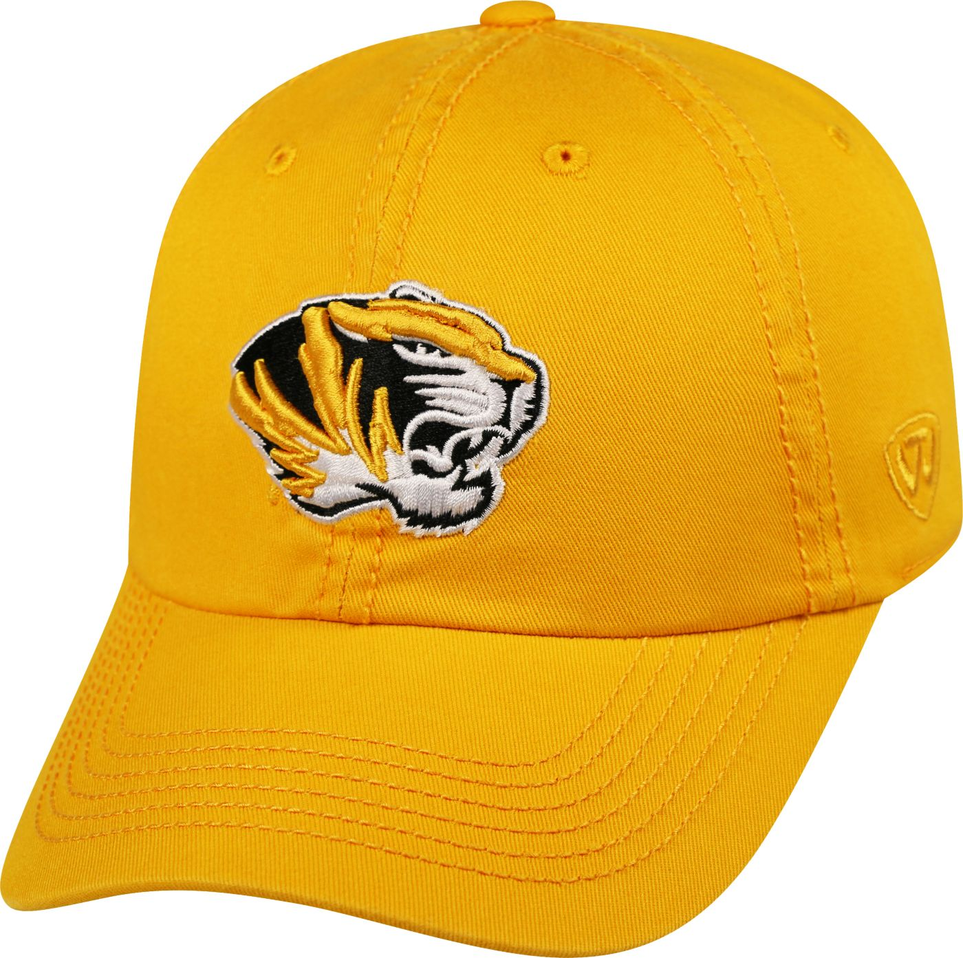 Top of the World Men's Missouri Tigers Gold Crew Adjustable Hat