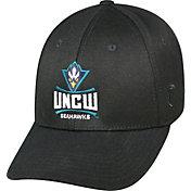 Top of the World Men's UNC-Wilmington Seahawks Black Premium Collection M-Fit Hat