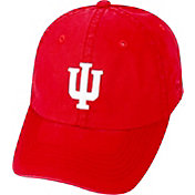 Top of the World Men's Indiana Hoosiers Crimson Crew Adjustable Hat