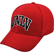 Top of the World Men's UNLV Rebels Scarlet Premium Collection M-Fit Hat