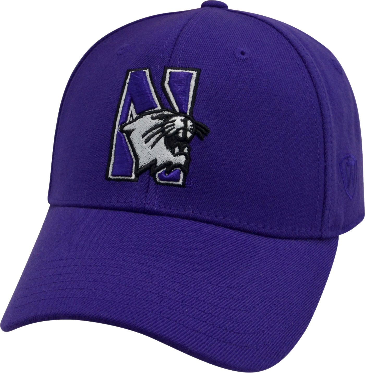 Top of the World Men's Northwestern Wildcats Purple Premium Collection M-Fit Hat
