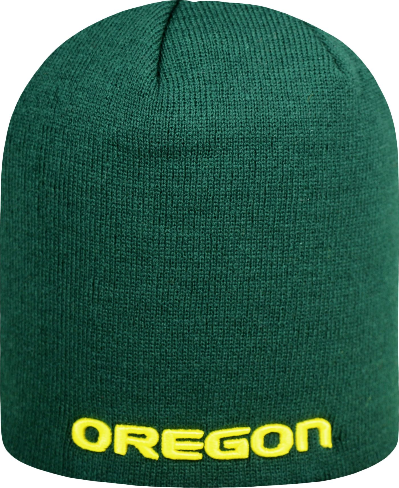 Top of the World Men's Oregon Ducks Green TOW Classic Knit Beanie