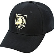 Top of the World Men's Army West Point Black Knights Army Black Premium Collection M-Fit Hat