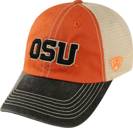 buy popular 7ac41 c377e ... Oregon State Beavers Orange White Black Off Road Adjustable Hat.  noImageFound