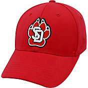 Top of the World Men's South Dakota Coyotes Red Premium Collection M-Fit Hat