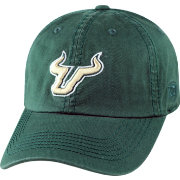 Top of the World Men's South Florida Bulls Green Crew Adjustable Hat