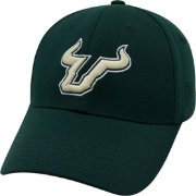 Top of the World Men's South Florida Bulls Green Premium Collection M-Fit Hat