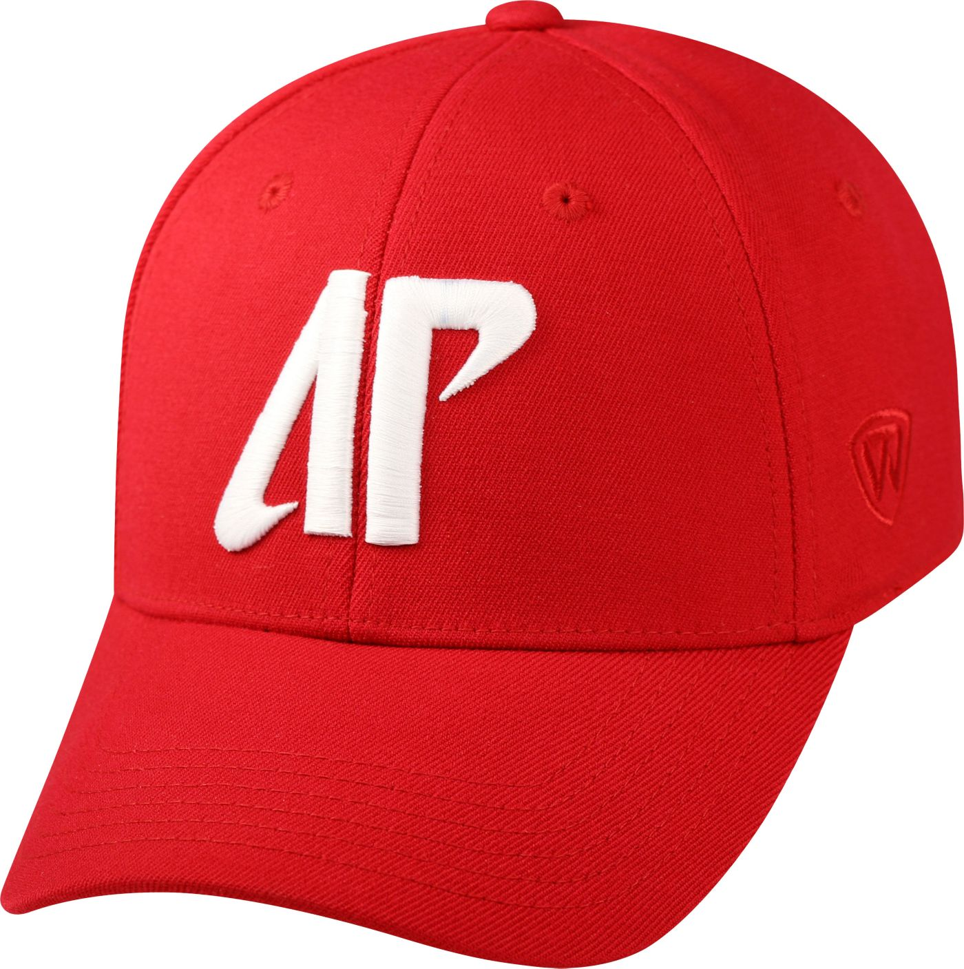 Top of the World Men's Austin Peay Governors Red Premium Collection M-Fit Hat