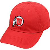 Top of the World Men's Utah Utes Crimson Crew Adjustable Hat