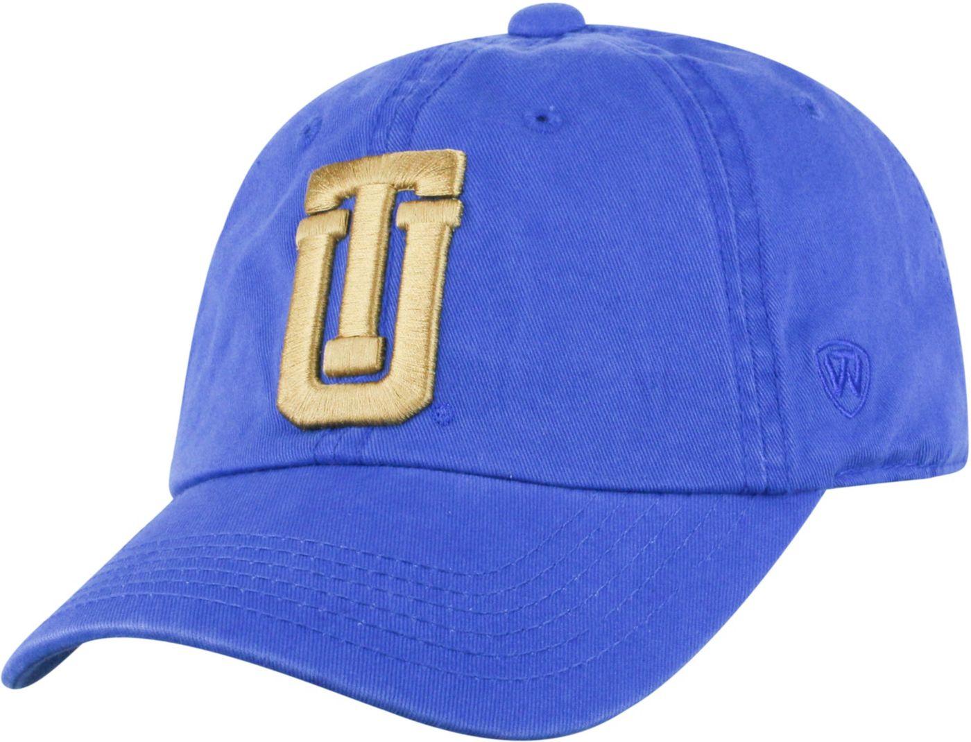 Top of the World Men's Tulsa Golden Hurricane Blue Crew Adjustable Hat
