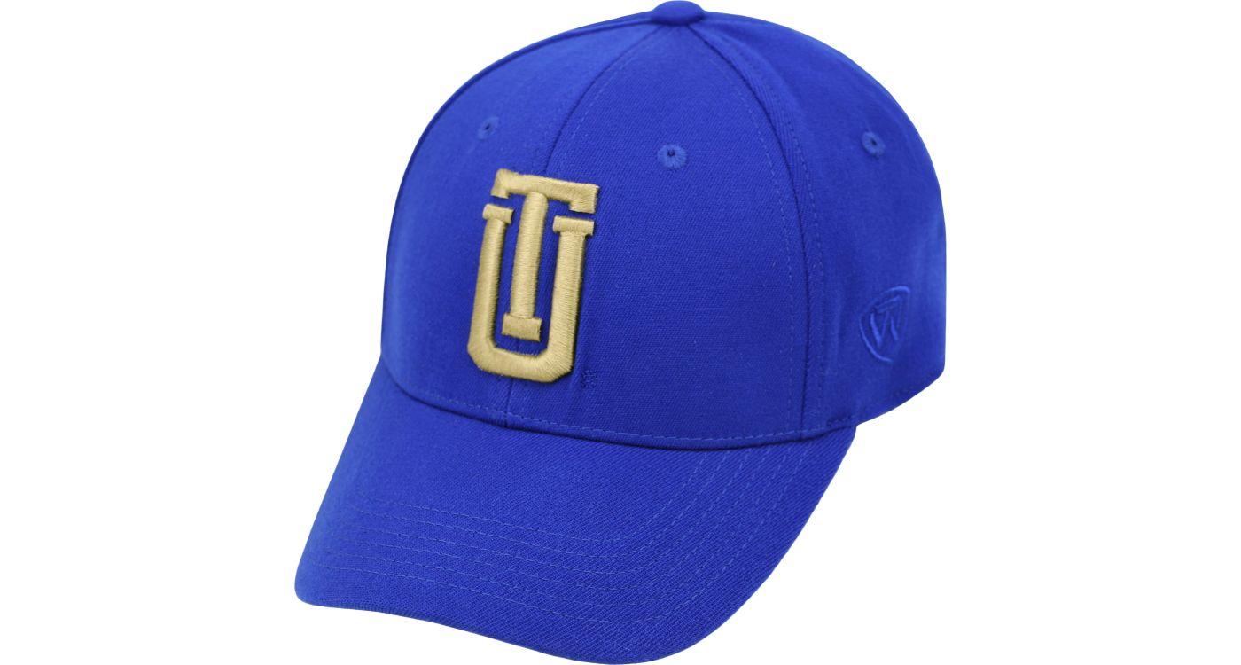 Top of the World Men's Tulsa Golden Hurricane Blue Premium Collection M-Fit Hat