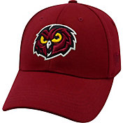Top of the World Men's Temple Owls Cherry Premium Collection M-Fit Hat