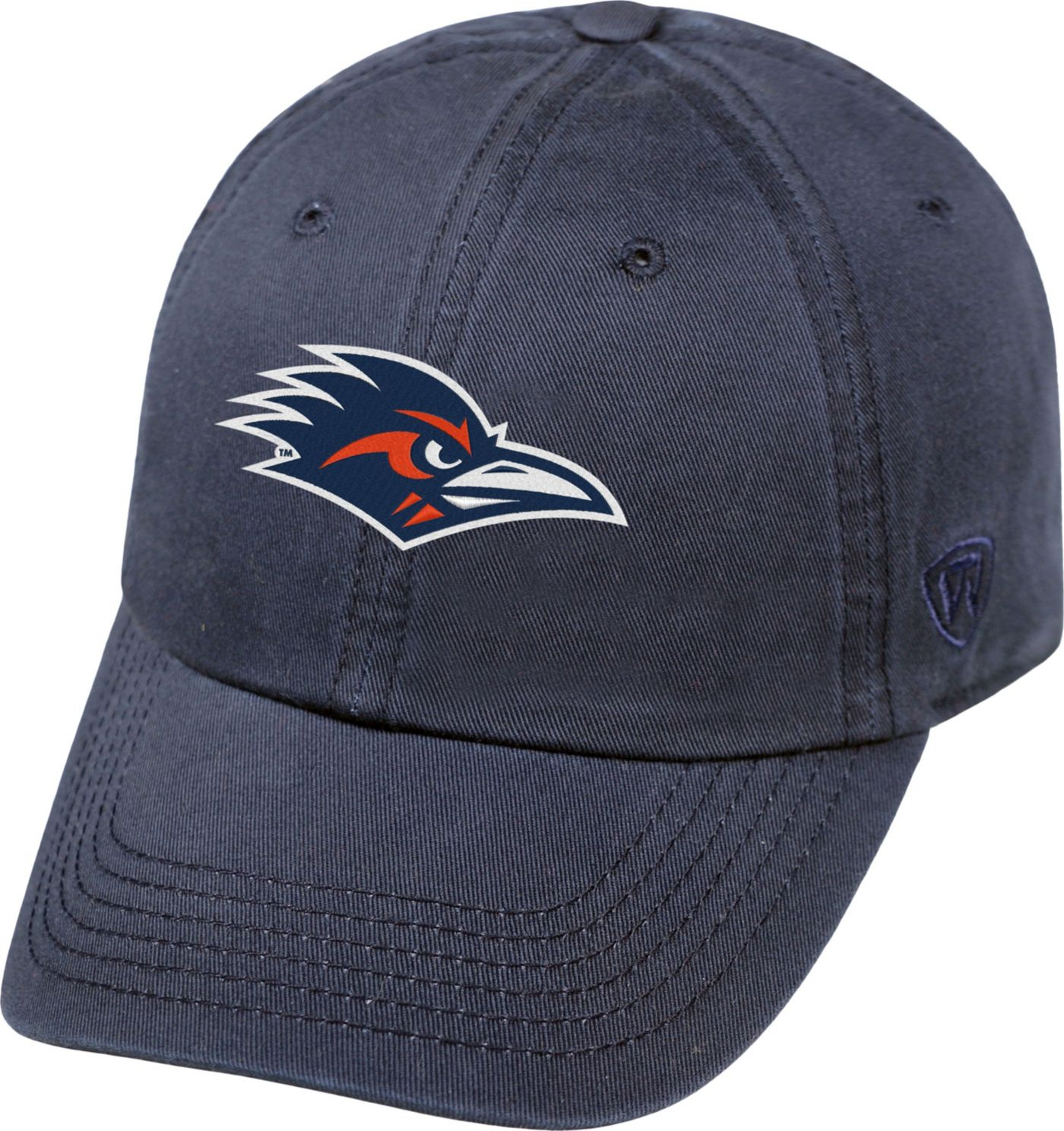 Top of the World Men's UT San Antonio Roadrunners Blue Crew Adjustable Hat