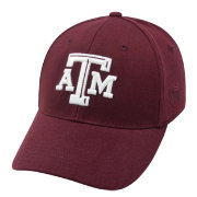 Top of the World Men's Texas A&M Aggies Maroon Premium Collection M-Fit Hat